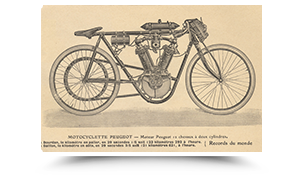 First motorbike with a V-45° twin engine