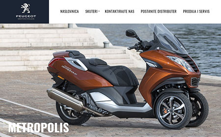 Websites - Peugeot Motocycles