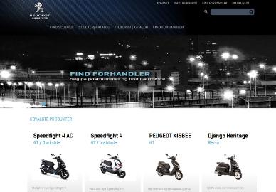 Websites - Peugeot Motocycles